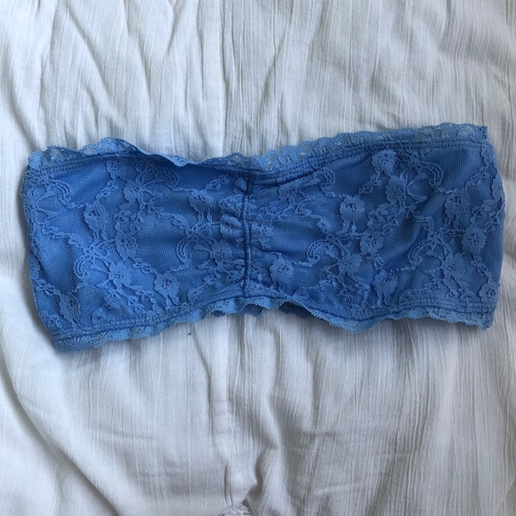 Garage Other - Garage baby blue lace bandeau size small